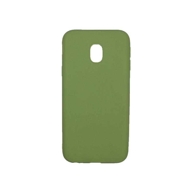 Θήκη Samsung Galaxy J3 2017 Σιλικόνη πράσινο