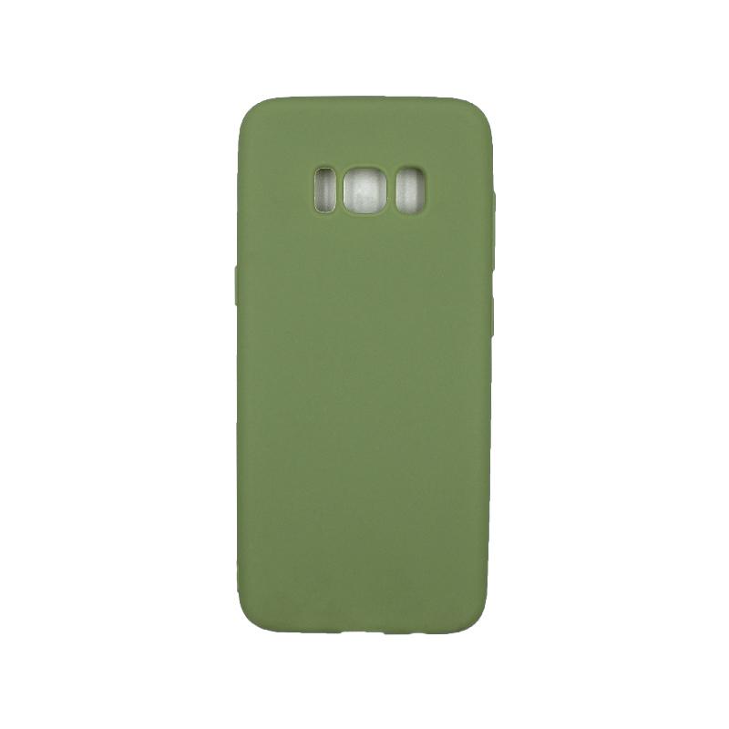 Θήκη Samsung Galaxy S8 Σιλικόνη πράσινο