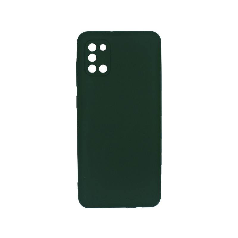 Θήκη Samsung A31 Σιλικόνη πράσινο