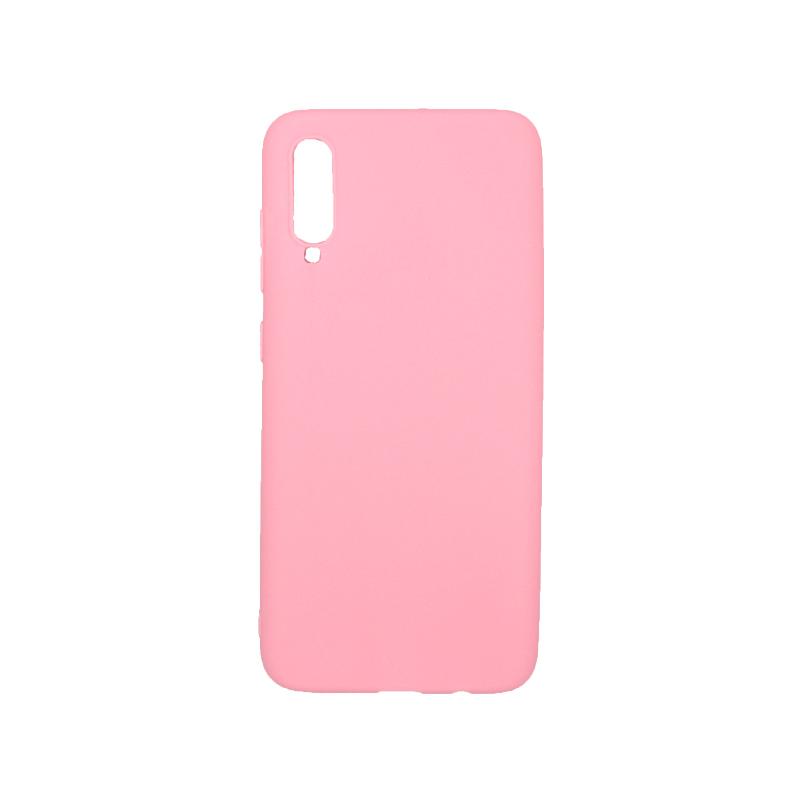 Θήκη Samsung Galaxy A70 / A70S Σιλικόνη ροζ