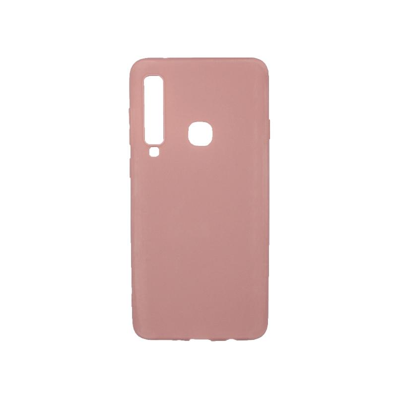Θήκη Samsung Galaxy Α9 2018 Σιλικόνη ροζ