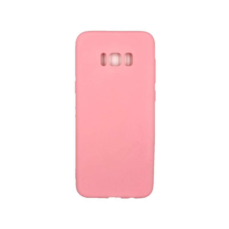 Θήκη Samsung Galaxy S8 Plus Σιλικόνη ροζ