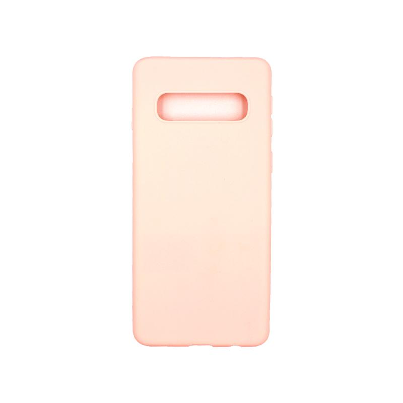 Θήκη Samsung Galaxy S10 Σιλικόνη ροζ