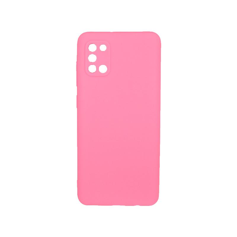 Θήκη Samsung A31 Σιλικόνη ροζ