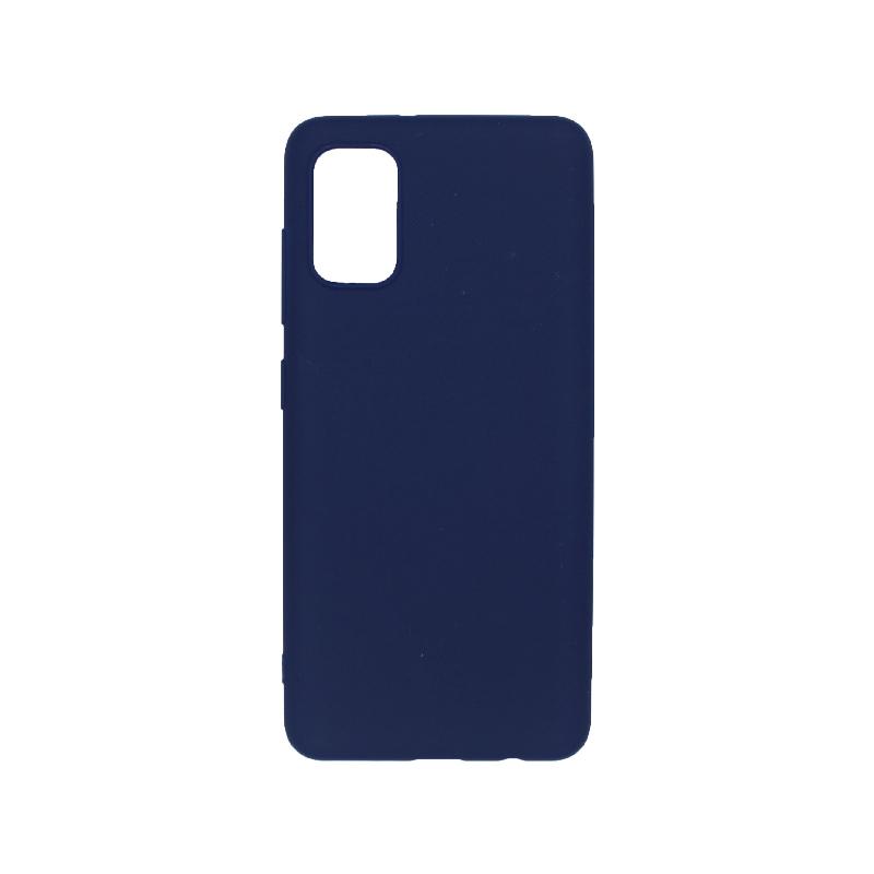θήκη samsung A41 σιλικόνη σκούρο μπλε