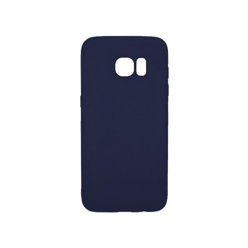 Θήκη Samsung Galaxy S7 Edge Σιλικόνη σκούρο μπλε