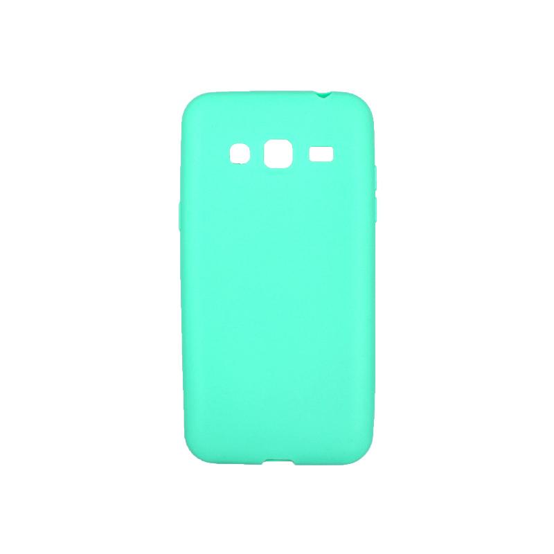 Θήκη Samsung Galaxy J3 2016 Σιλικόνη τιρκουάζ