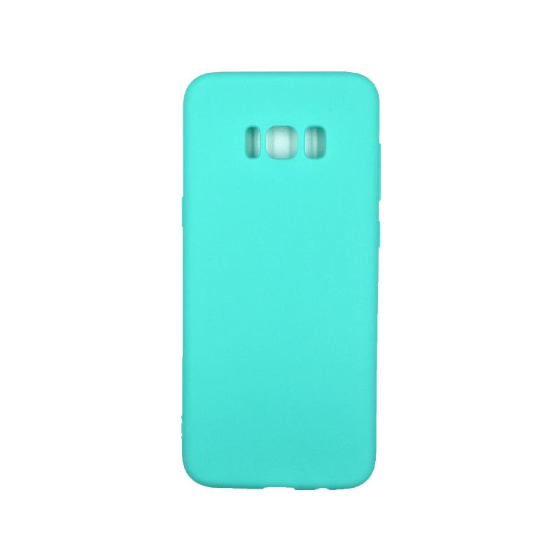 Θήκη Samsung Galaxy S8 Plus Σιλικόνη τιρκουάζ