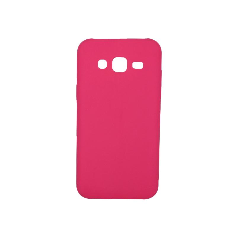 Θήκη Samsung Galaxy J5 Σιλικόνη φούξια