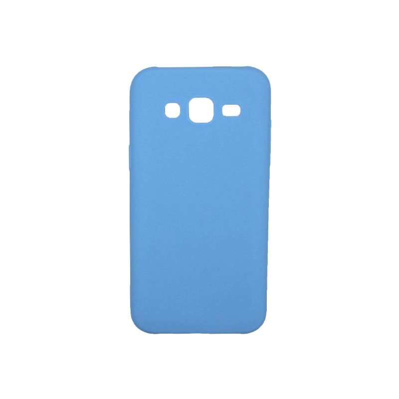 Θήκη Samsung Galaxy J5 Σιλικόνη γαλάζιο