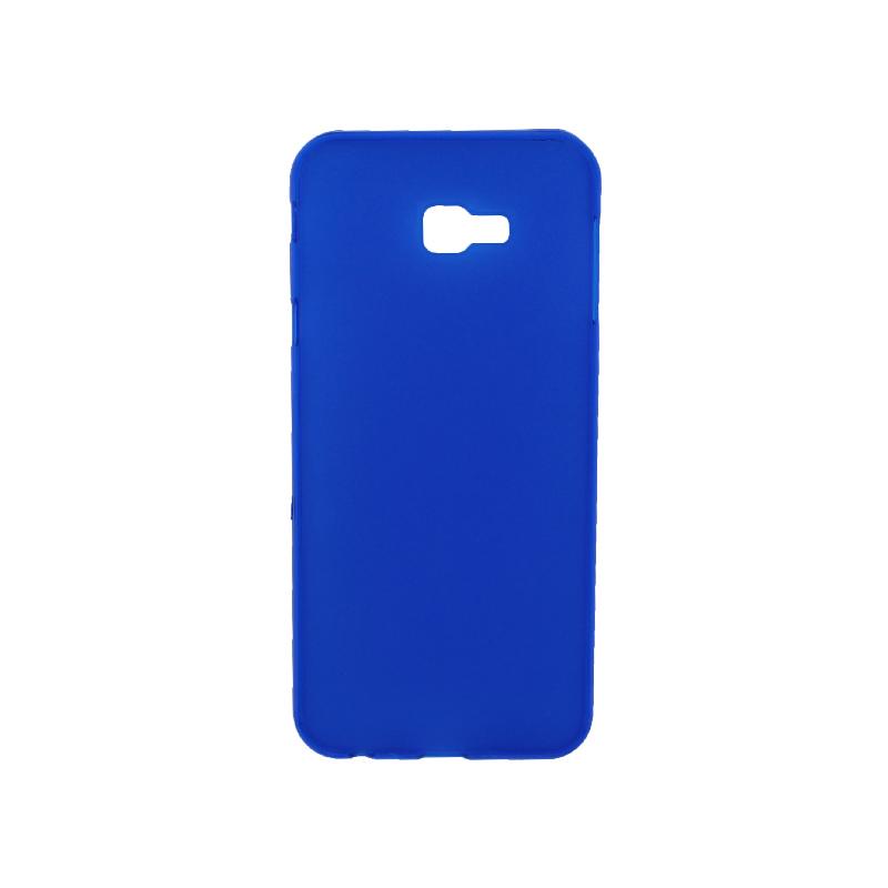 Θήκη Samsung Galaxy J4 Plus Σιλικόνη Neon μπλε