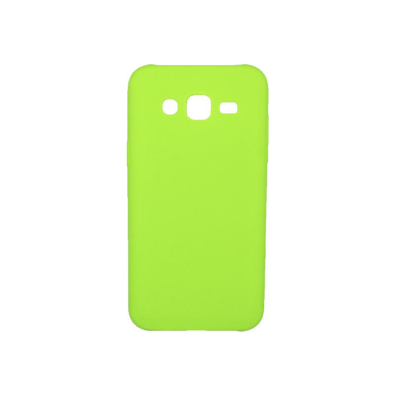 Θήκη Samsung Galaxy J5 Σιλικόνη πράσινο