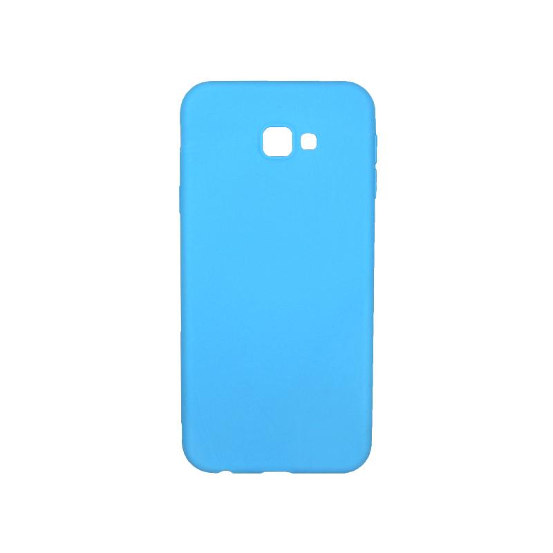 Θήκη Samsung Galaxy J4 Plus Σιλικόνη γαλάζιο