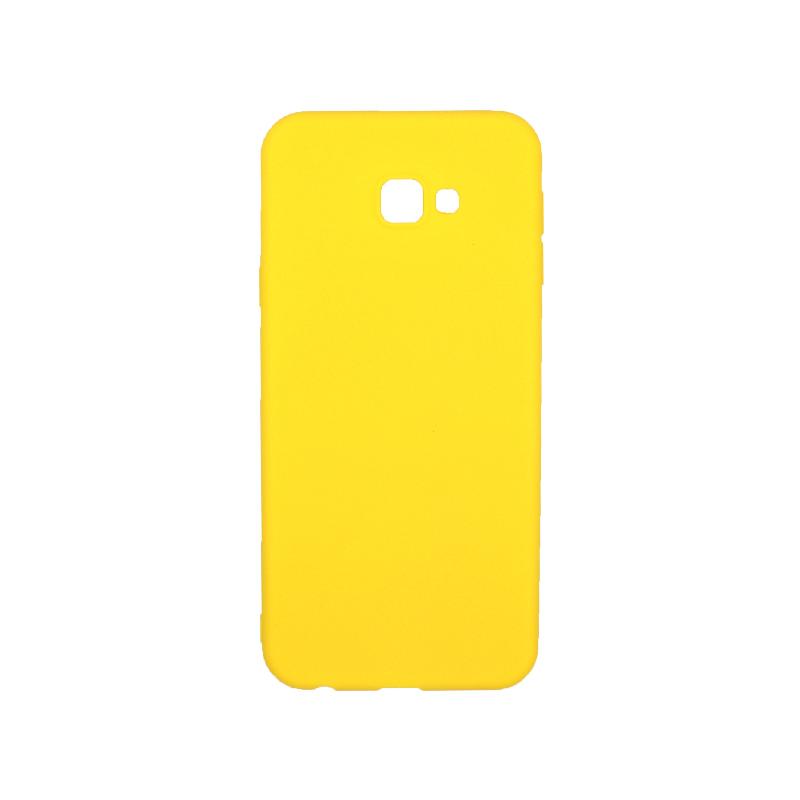Θήκη Samsung Galaxy J4 Plus Σιλικόνη κίτρινο