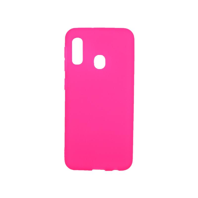 Θήκη Samsung Galaxy A10e / A20e Σιλικόνη φουξ
