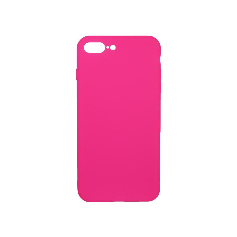 θήκη iphone 7 Plus / 8 Plus σιλικόνη φούξια