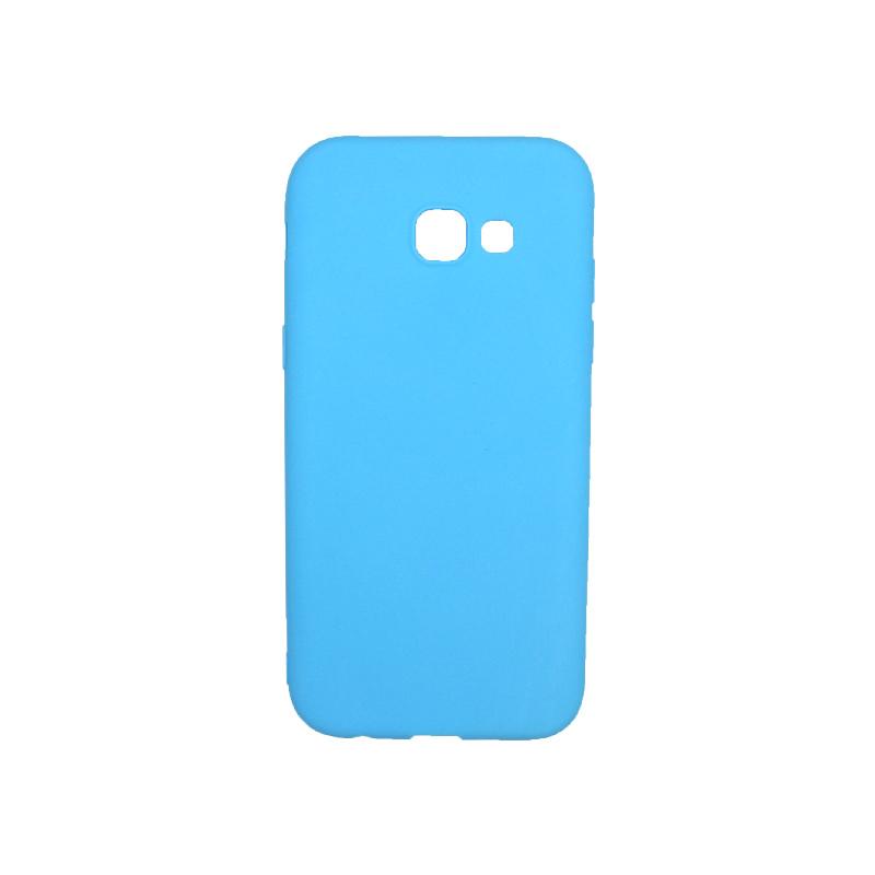 Θήκη Samsung Galaxy Α5 2017 Σιλικόνη γαλάζιο