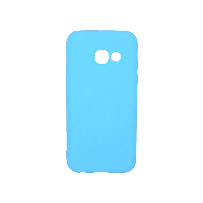 Θήκη Samsung Galaxy Α3 2017 Σιλικόνη γαλάζιο