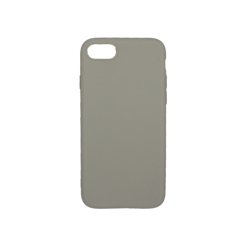 θήκη iphone 7 / 8 σιλικόνη γκρι