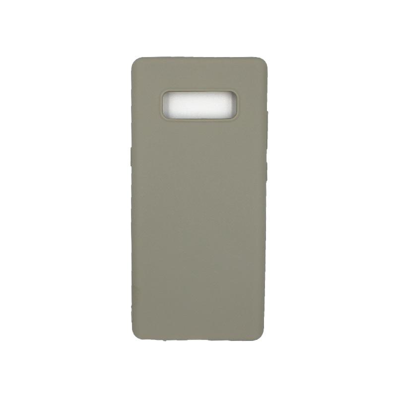 Θήκη Samsung Galaxy Note 8 σιλικόνη γκρι