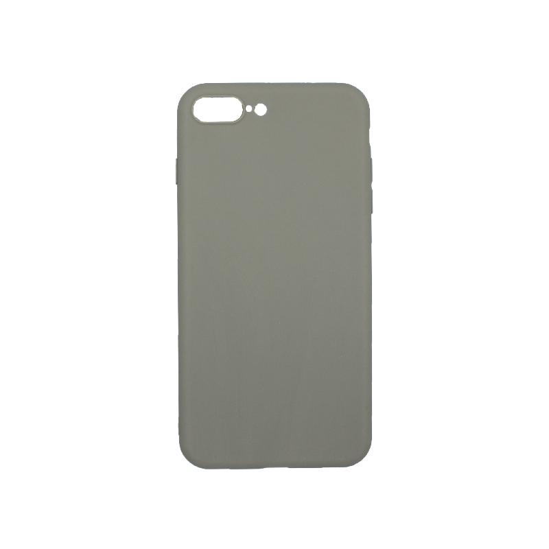 θήκη iphone 7 Plus / 8 Plus σιλικόνη γκρι