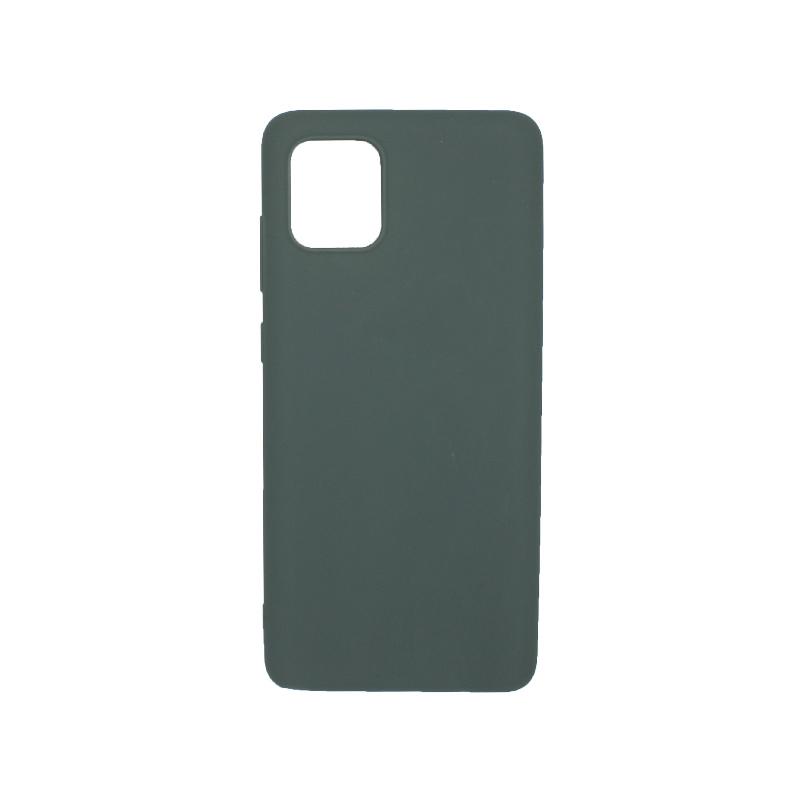 Θήκη Samsung A81 / Note 10 Lite Σιλικόνη γκρι