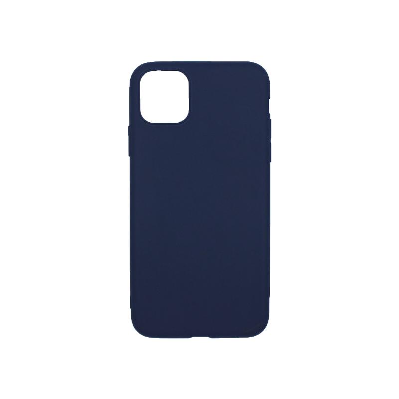 θήκη iphone 11 pro max σιλικόνη dark blue