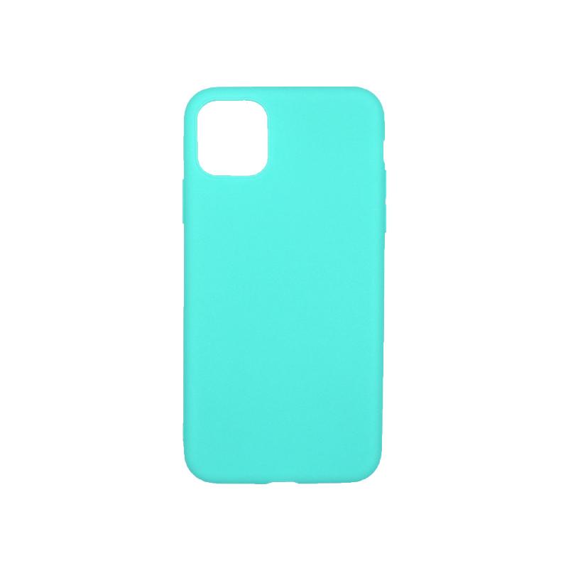 θήκη iphone 11 pro max σιλικόνη τιρκουάζ