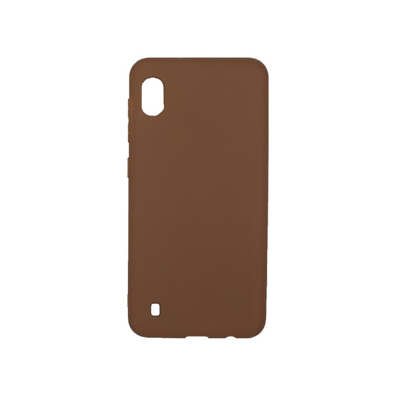 Θήκη Samsung Galaxy A10 / M10 Σιλικόνη καφέ