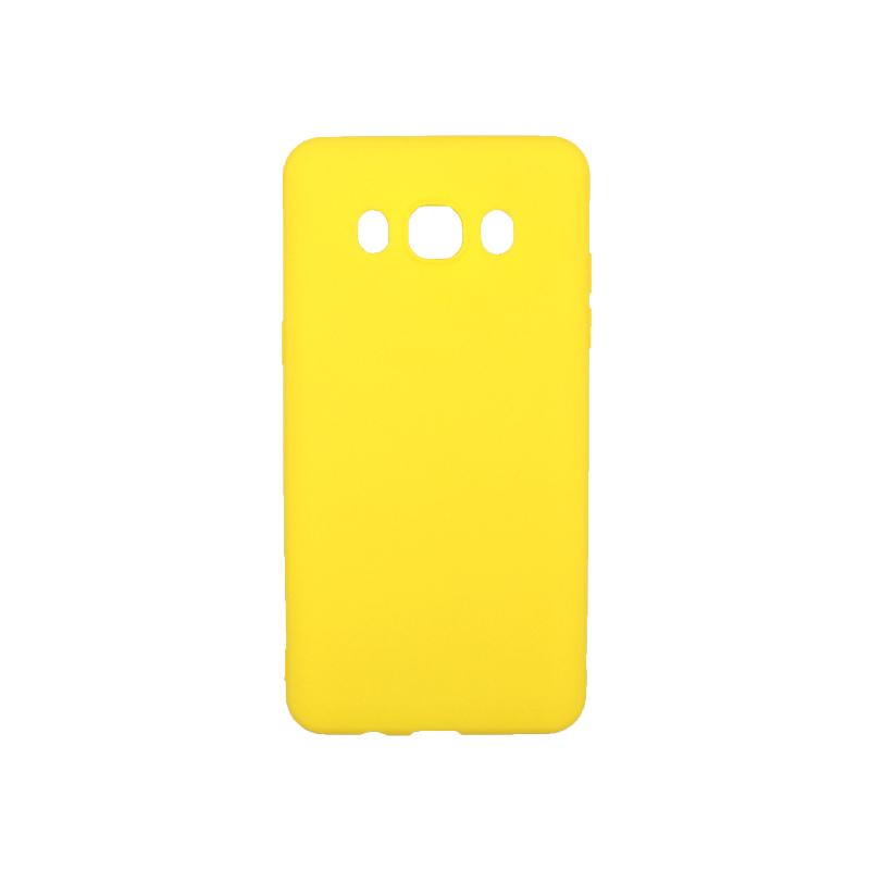 Θήκη Samsung Galaxy J5 2016 Σιλικόνη κίτρινο