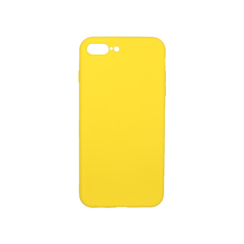 θήκη iphone 7 Plus / 8 Plus σιλικόνη κίτρινο