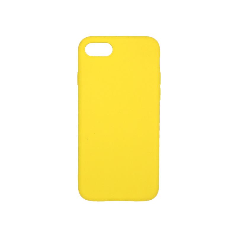 θήκη iphone 7 / 8 σιλικόνη κίτρινο