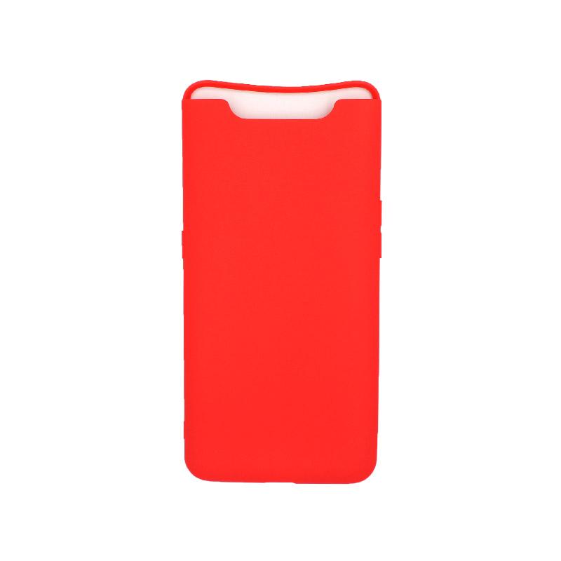 Θήκη Samsung Galaxy A80 / A90 Σιλικόνη κόκκινο