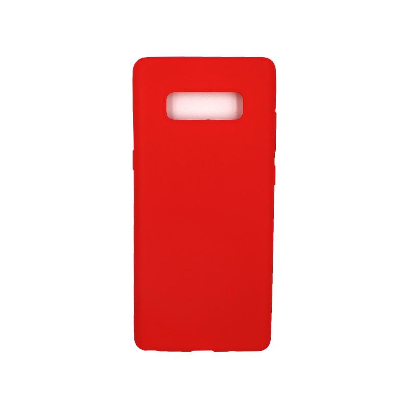 Θήκη Samsung Galaxy Note 8 σιλικόνη κόκκινο