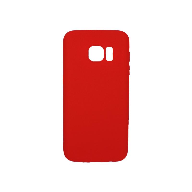 Θήκη Samsung Galaxy S7 Σιλικόνη κόκκινο