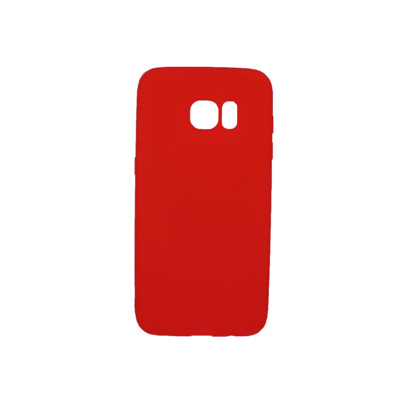 Θήκη Samsung Galaxy S7 Edge Σιλικόνη κόκκινο