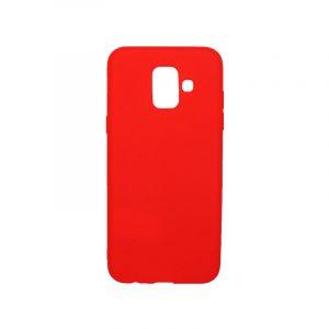 Θήκη Samsung Galaxy Α6 Σιλικόνη κόκκινο