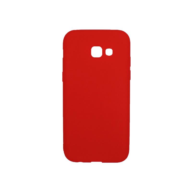 Θήκη Samsung Galaxy Α5 2017 Σιλικόνη κόκκινο