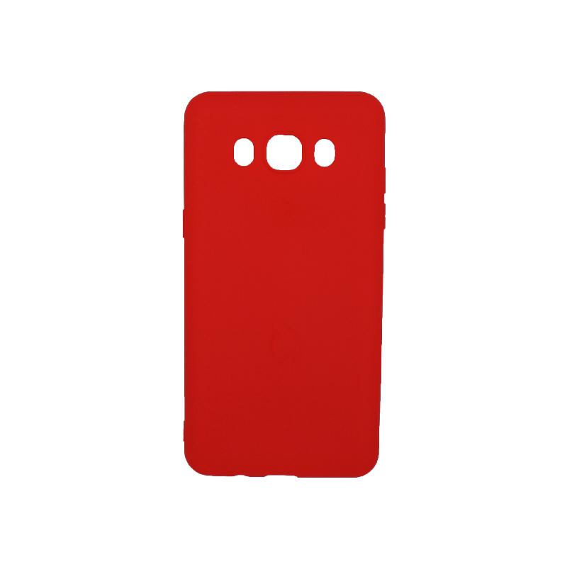 Θήκη Samsung Galaxy J5 2016 Σιλικόνη κόκκινο