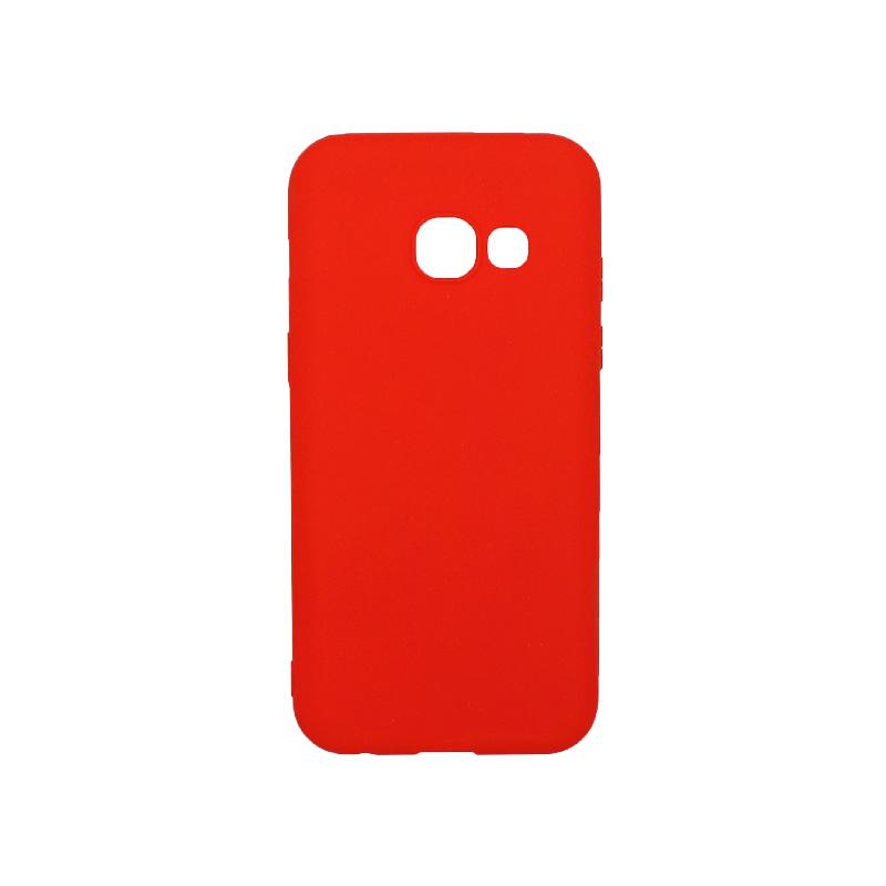 Θήκη Samsung Galaxy Α3 2017 Σιλικόνη κόκκινο