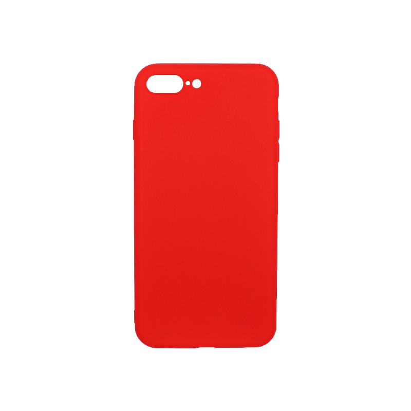 θήκη iphone 7 Plus / 8 Plus σιλικόνη κόκκινο