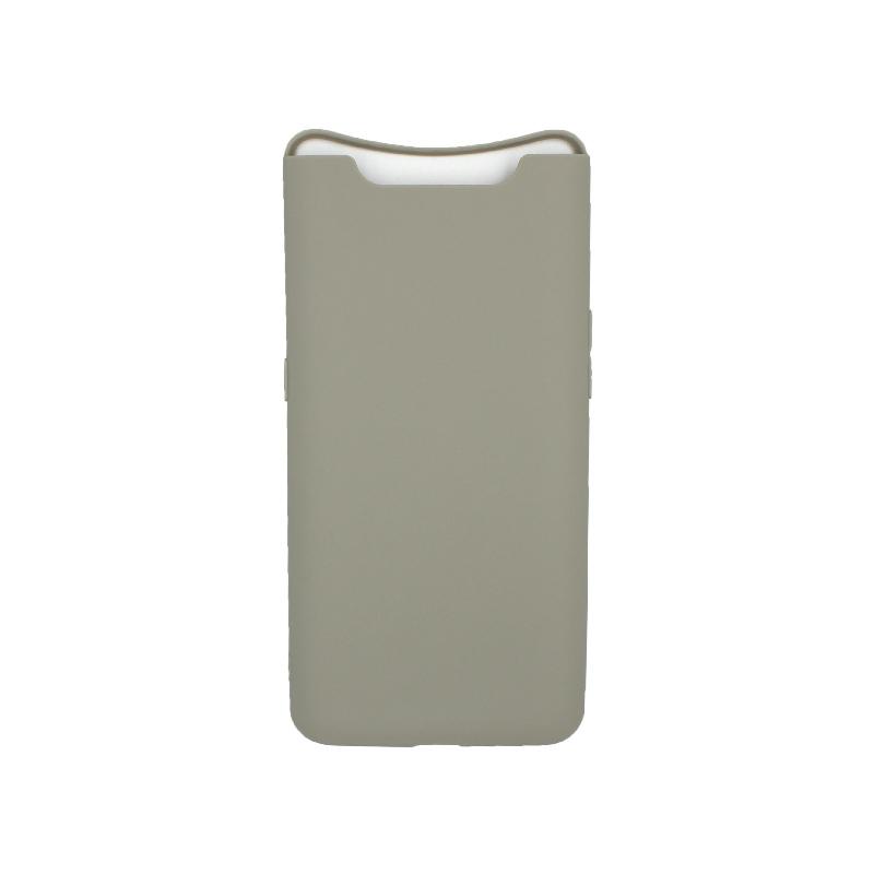 Θήκη Samsung Galaxy A80 / A90 Σιλικόνη λαδί
