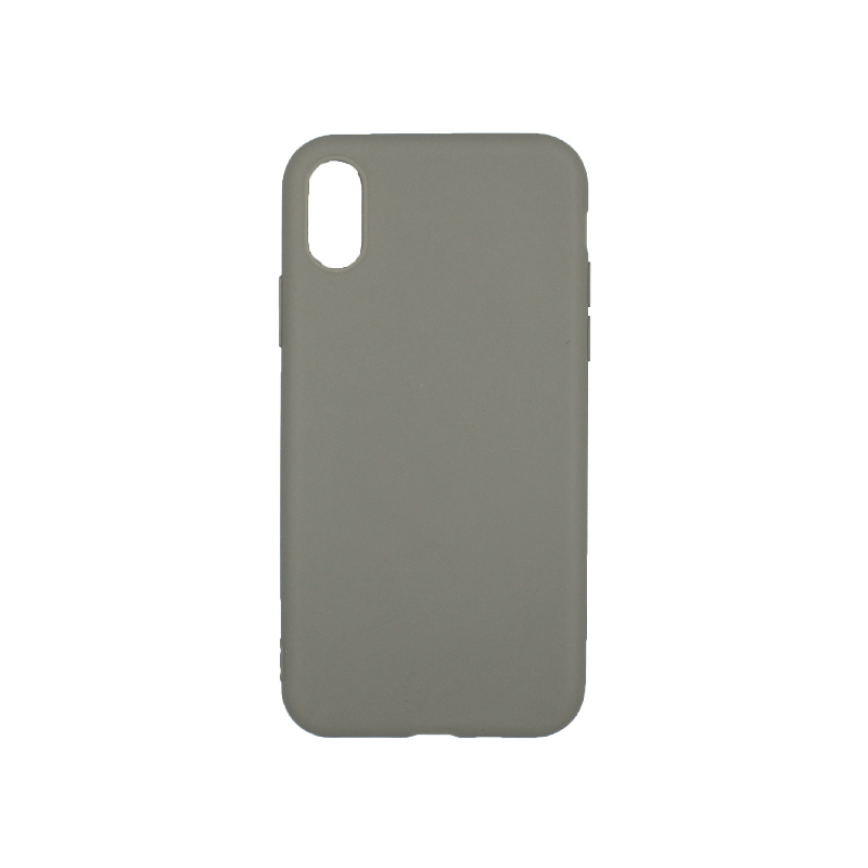 θήκη iphone X / XS / XR / XS MAX σιλικόνη λαδί