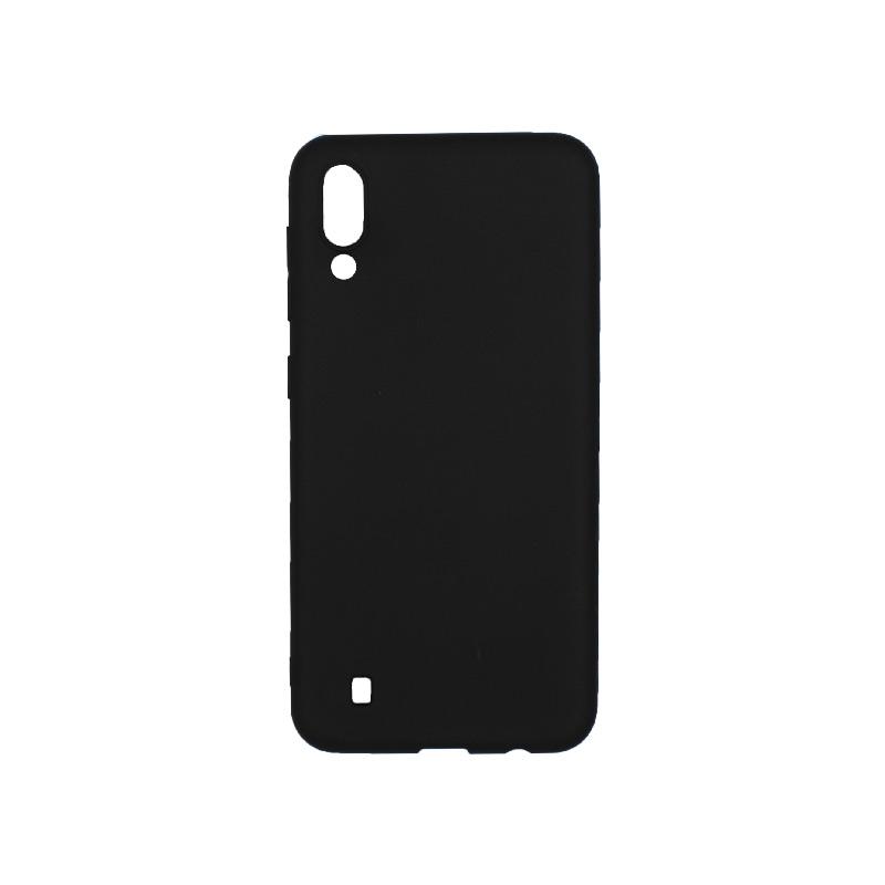 Θήκη Samsung Galaxy A10 / M10 Σιλικόνη μαύρο