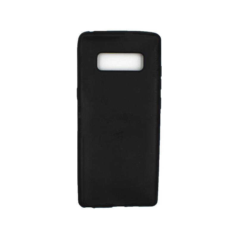 Θήκη Samsung Galaxy Note 8 σιλικόνη μαύρο