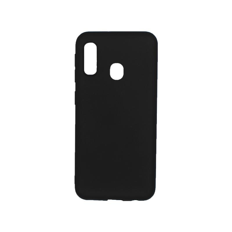 Θήκη Samsung Galaxy A10e / A20e Σιλικόνη μαύρο