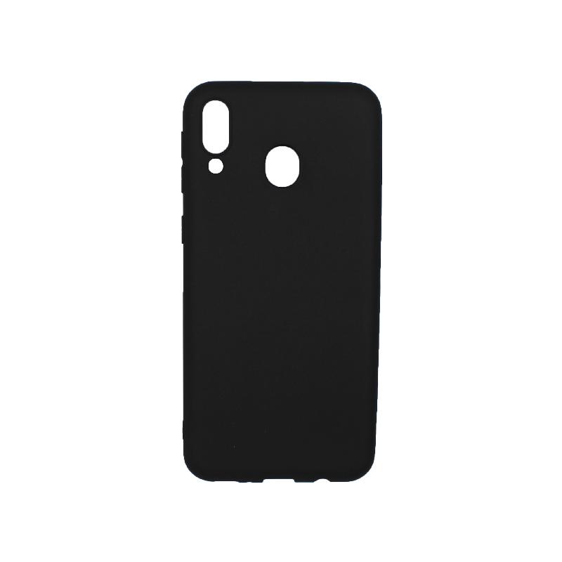 Θήκη Samsung Galaxy Μ20 Σιλικόνη μαύρο