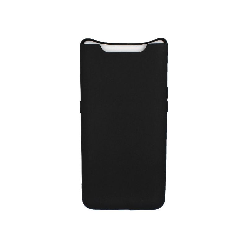 Θήκη Samsung Galaxy A80 / A90 Σιλικόνη μαύρο
