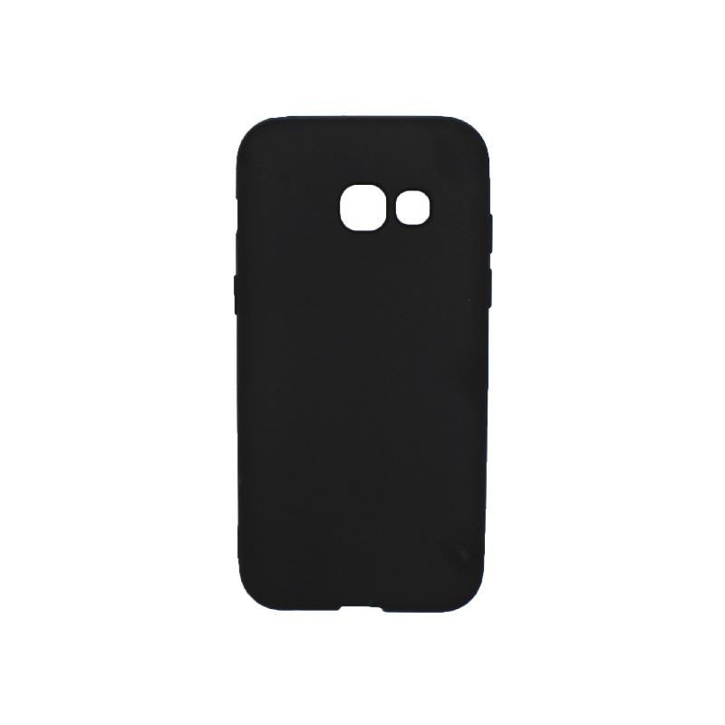 Θήκη Samsung Galaxy Α3 2017 Σιλικόνη μαύρο