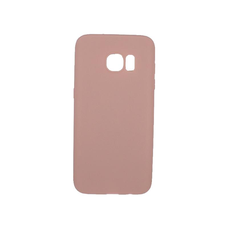 Θήκη Samsung Galaxy S7 Edge Σιλικόνη μπεζ